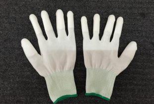 Găng tay Hàn Quốc phủ PU đầu ngón