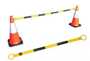 Thanh chắn ngang giao thông có phản quang