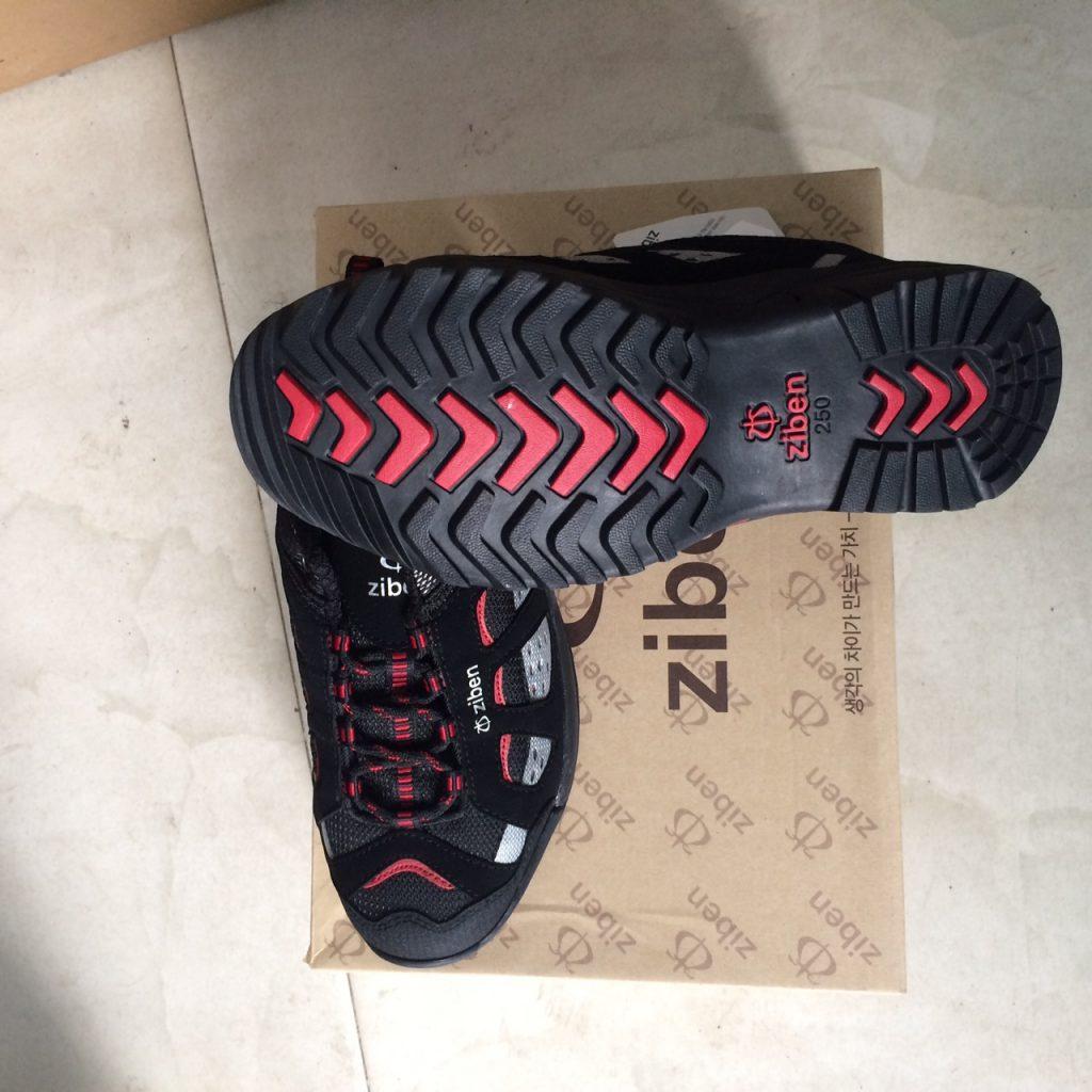 Giày bảo hộ lao động buộc dây ZIBEN ZB-100 Hàn Quốc