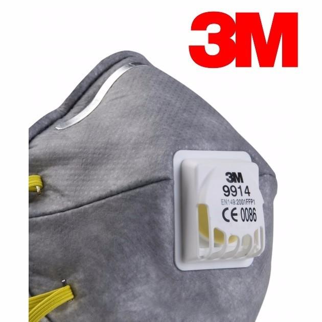 Khẩu trang lọc bụi 3M-9914 chính hãng mỹ