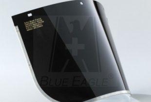 Tấm kính FC45 Đài Loan mica màu đen hàn chắn bụi