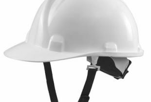 Mũ bảo hộ Thùy Dương N40 màu trắng có khóa vặn