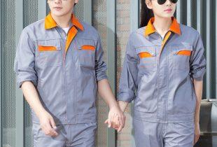 May đồng phục quần áo bảo hộ hanko09