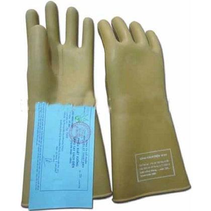 Găng tay bảo hộ cách điện 15KV an toàn tuyệt đối