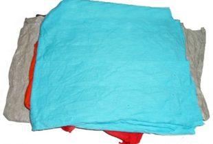 Bán giẻ lau màu cotton khổ lớn 20cm x 35 cm
