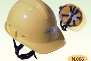mũ bảo hộ BB N006 màu vàng chanh có khóa vặn