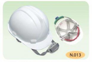 mũ nhựa bảo hộ BB N013 màu trắng có khóa vặn