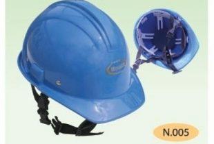 mũ bảo hộ BB-N005 màu xanh blue khóa cài