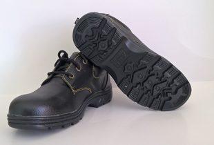 Giày bảo hộ ABC chỉ vàng thấp cổ mũi sắt