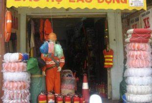 Cửa hàng bảo hộ lao động tại Hà Nội