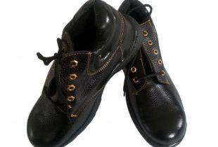 Giày bảo hộ cao cổ ABC mũi sắt