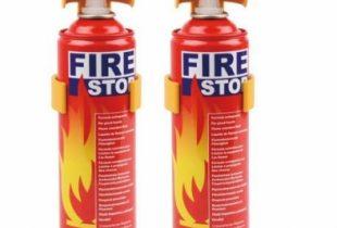 Bán bình chữa cháy mini để oto Fire Stop Form