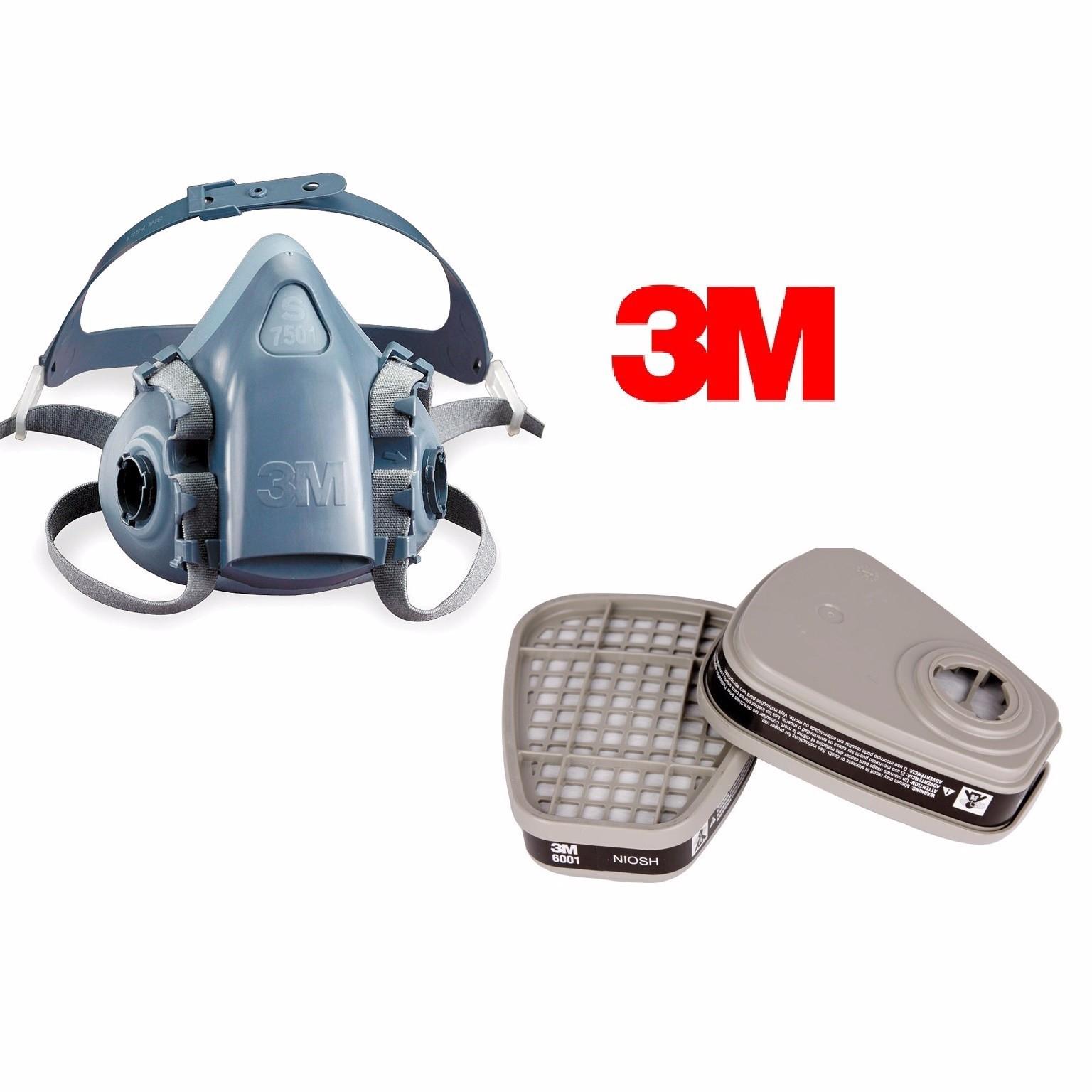 Bán mặt nạ phòng độc 3M7501 Mỹ (USA)