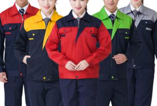 May đồng phục bảo hộ lao động vải Pangrim Hàn Quốc XỊN