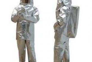 Bộ quần áo chống cháy tráng nhôm 700 độ C