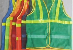 Áo phản quang lưới 7 màu để lựa chọn