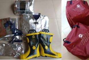 Quần áo chống cháy chịu nhiệt KTFS1500 KOREA Hàn Quốc