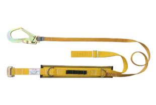 Bán dây an toàn đơn A1 (HB) màu vàng móc to