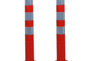 Bán Cọc tiêu giao thông phân làn siêu dẻo trụ cao 75cm
