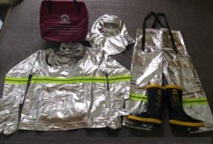 Quần áo chống cháy tráng bạc Hàn Quốc KTFS500R