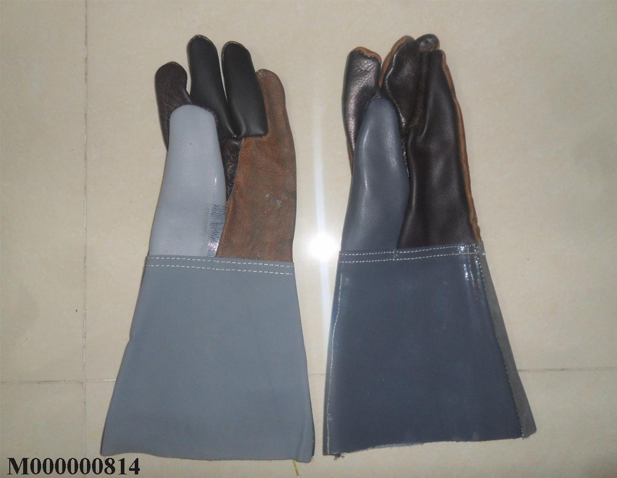 Găng tay chống nóng da hàn dài VN