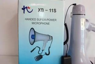 Loa cầm tay XB11S là loa phát ra công xuất 15W
