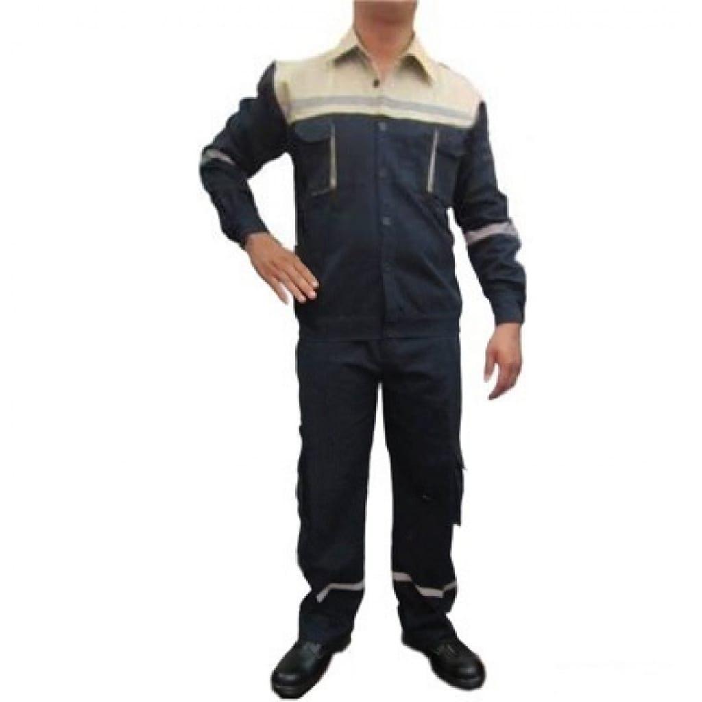 Quần áo túi hộp phản quang vải bạt chống nóng thợ hàn