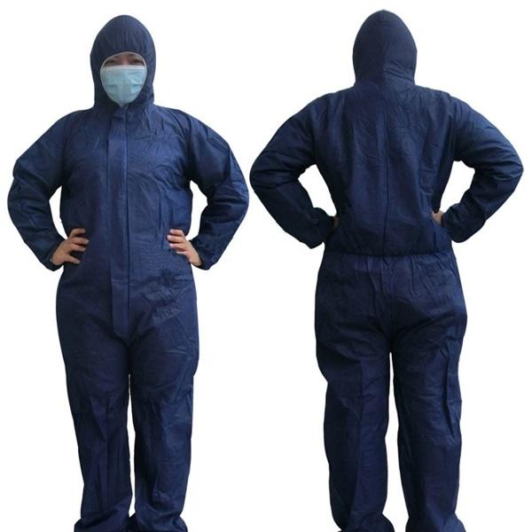 Đồng phục phòng sạch áo liền quần ( QABH-P046)