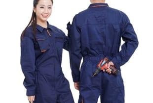 Đồng phục áo liền quần vải Hàn Quốc HKQA-P019