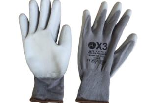 Găng tay chống tĩnh điện Korea X3-115G phủ PU