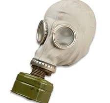 Mặt nạ phòng độc quân sự Nga ( Liên Xô) không vòi