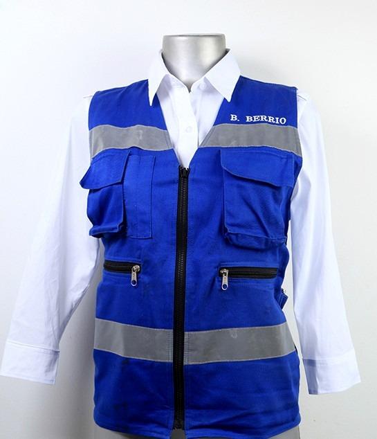 áo phản quang gile nhiều túi vải Hàn Quốc