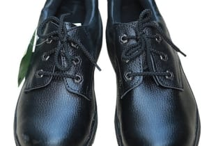 Giày bảo hộ ABC chỉ đen thấp cổ mũi thép