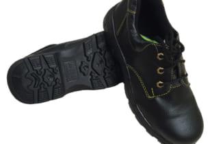 Giày bảo hộ ABC thấp cổ chỉ vàng mũi thép