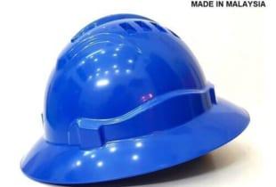 Mũ bảo hộ rộng vành Proguard Malaysia màu xanh Blue