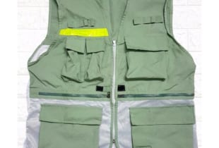 áo phản quang gile nhiều túi vải Hàn Quốc – GL02