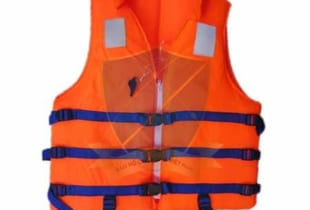 áo phao bơi có cổ + còi chất lượng TCVN