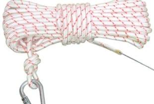 Dây cứu sinh VN D12 có lõi thép + móc khóa (cuộn 30m)